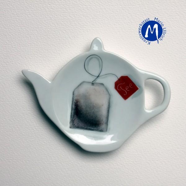 Teeablage -Teekännchen-