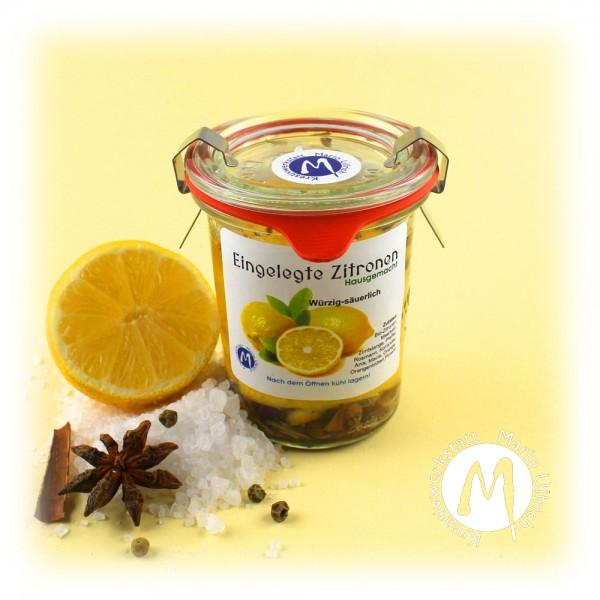 Eingelegte Zitronen - hausgemacht