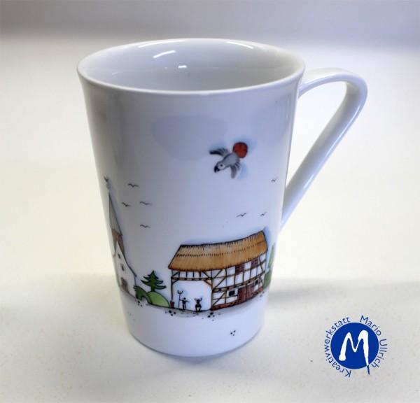 Kaffeebecher -Joeys Welt- Fachwerkhäuser